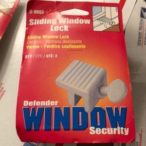Sliding Window Lock
